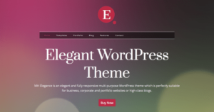 MH Elegance WordPress Theme