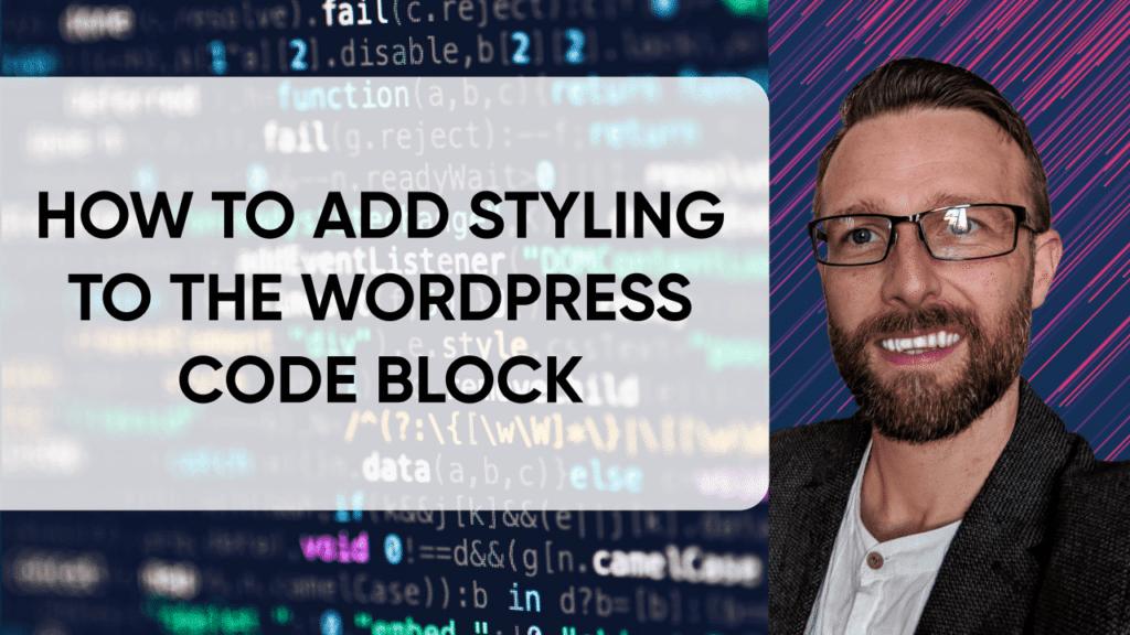 CSS Styling WordPress