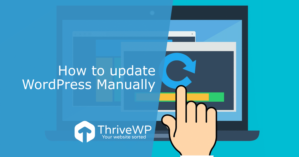 UK WordPress Support How to update WordPress manually