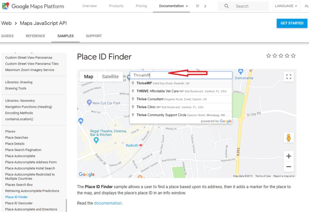 Google Place ID