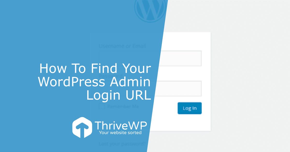 UK WordPress Support WordPress Admin Login