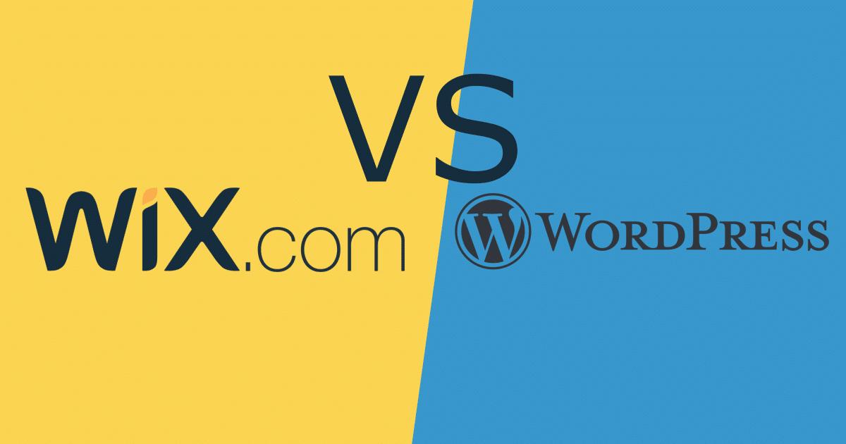 WordPress Management Services UK Wix Vs WordPress