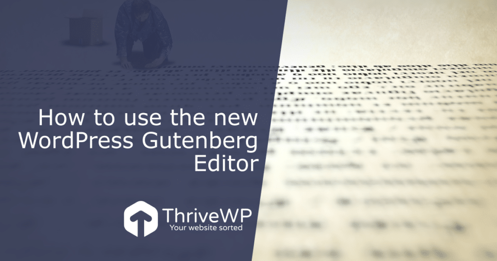 WordPress Gutenberg Guide