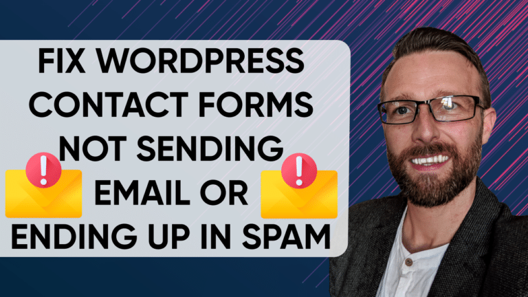 WordPress Contact form email going to spam