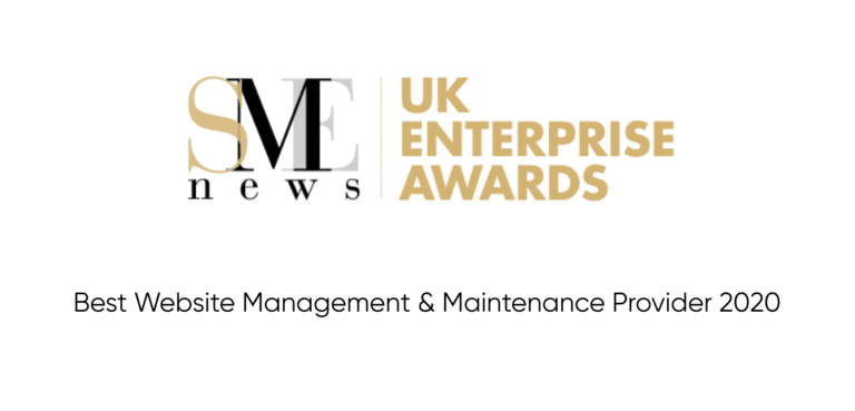 WordPress Maintenance Services UK SME AWARDS