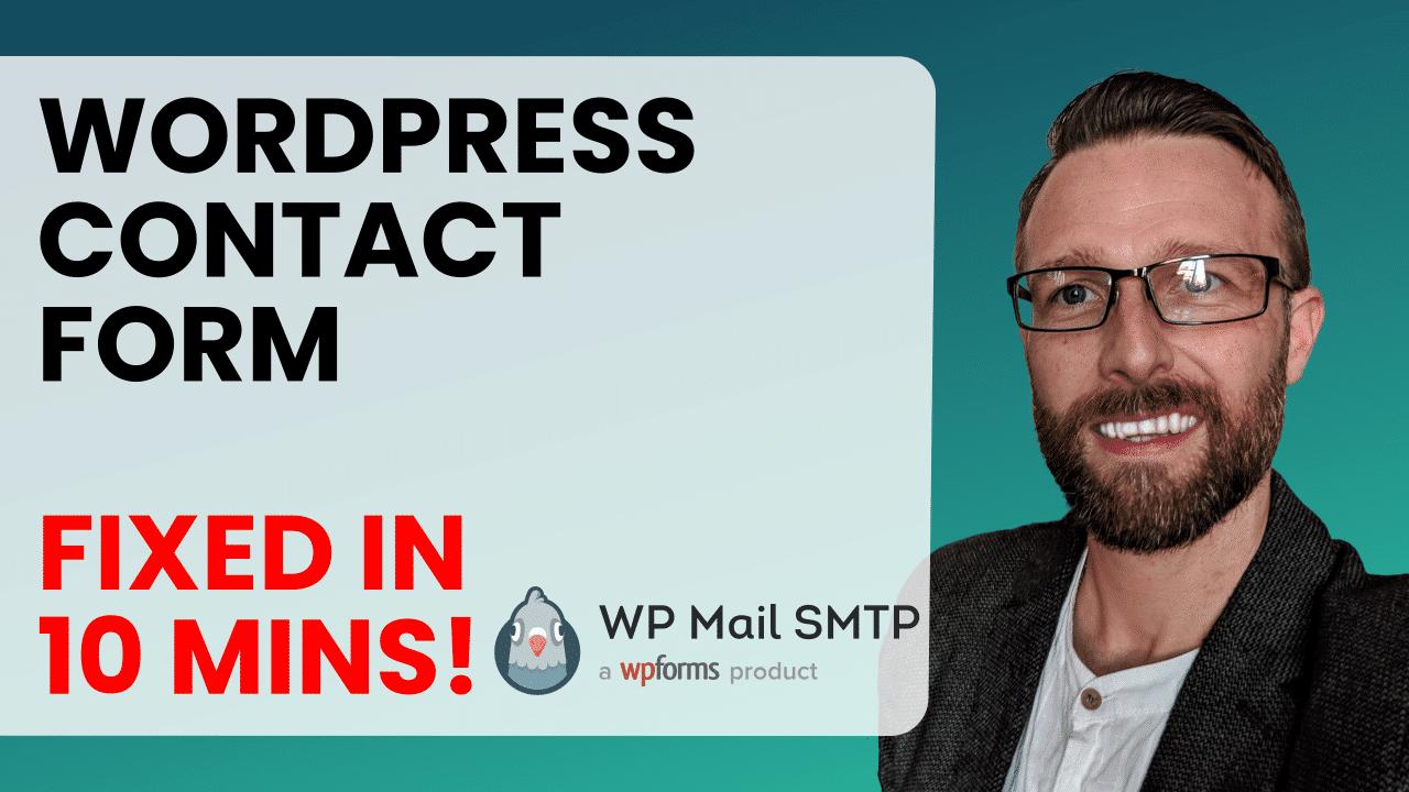 WordPress Care Plans Fix WordPress Contact Form