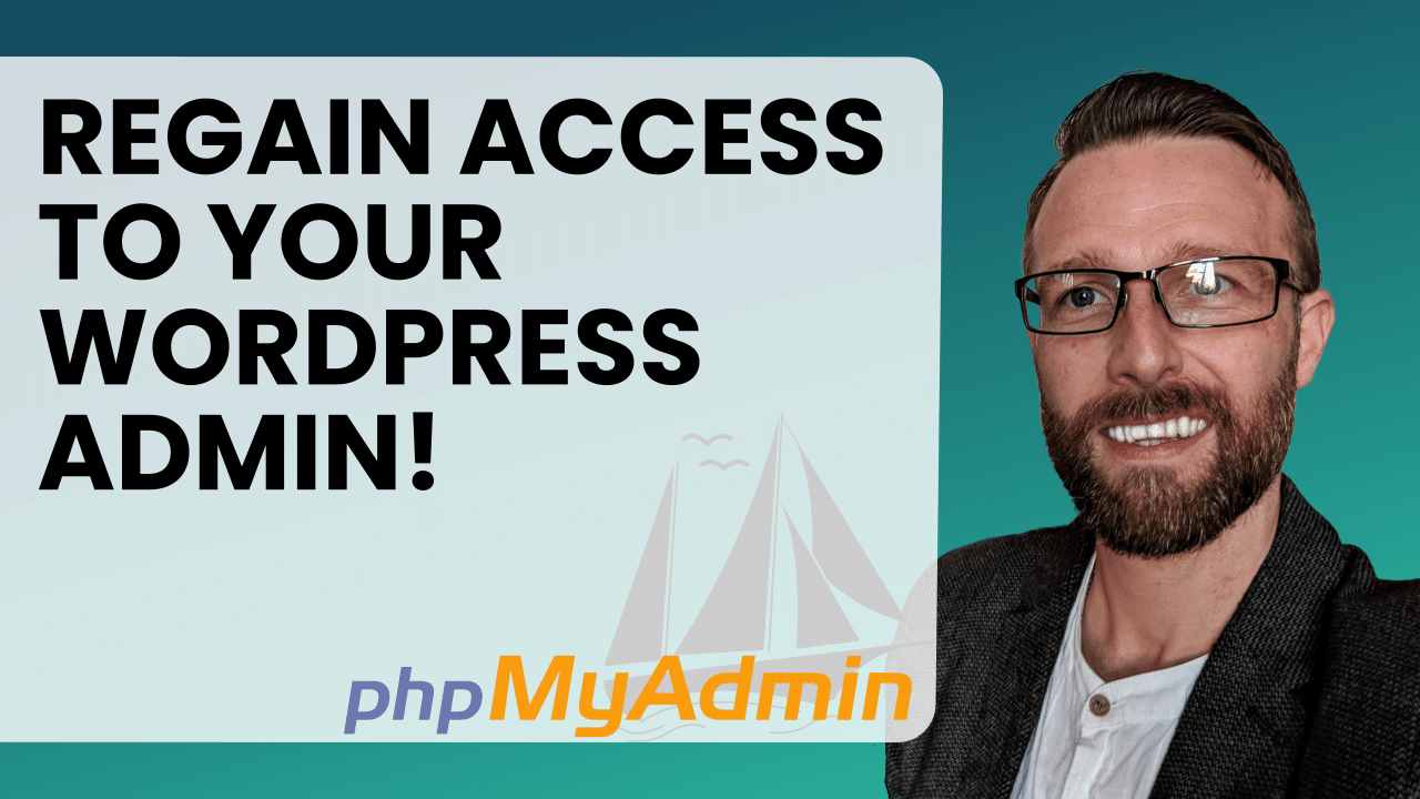Add admin user to WordPress database