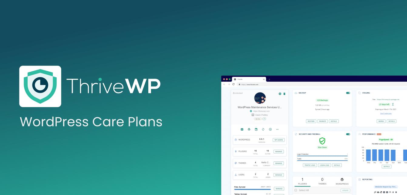 White Label WordPress Maintenance Services UK WordPress Care Plan
